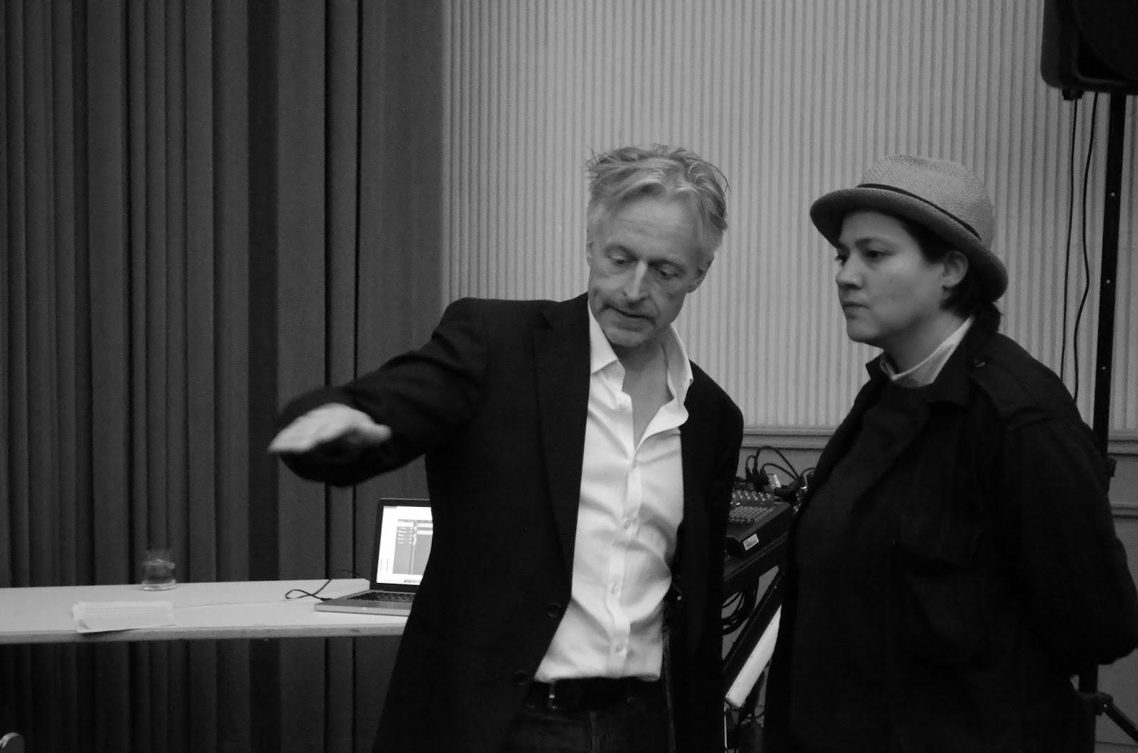 Olaf Stüber with Tisha Mukarji  (Composer / Conductor)