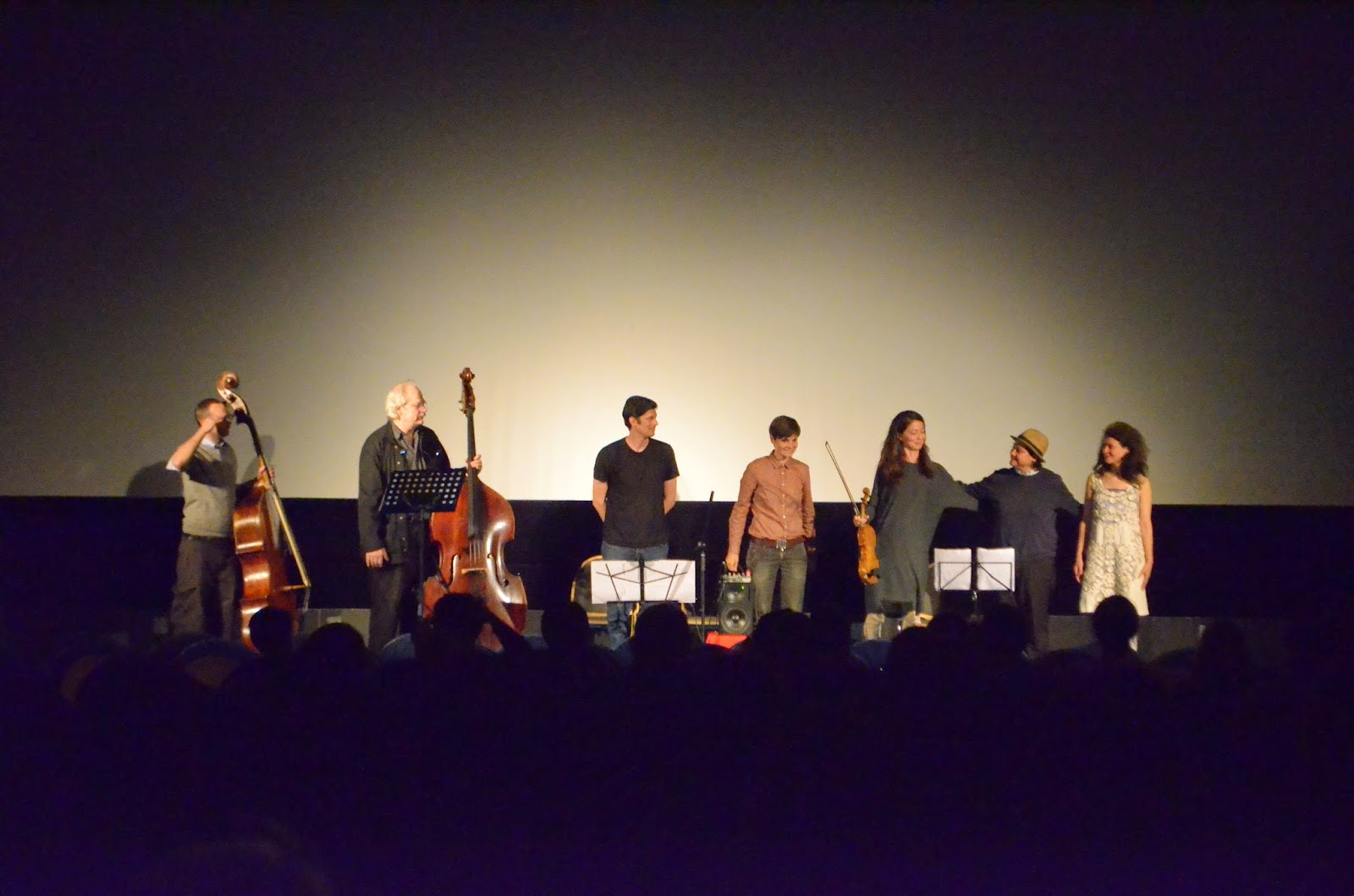Tisha Mukarji (Composer / Conductor), Margareth Kammerer (Voice), Derek Shirley (Contrabass), Klaus Kürvers (Contrabass), Ayumi Paul (Violin), Sabine Ercklentz (Trumpet), Bryan Eubanks (Soprano Saxophone)