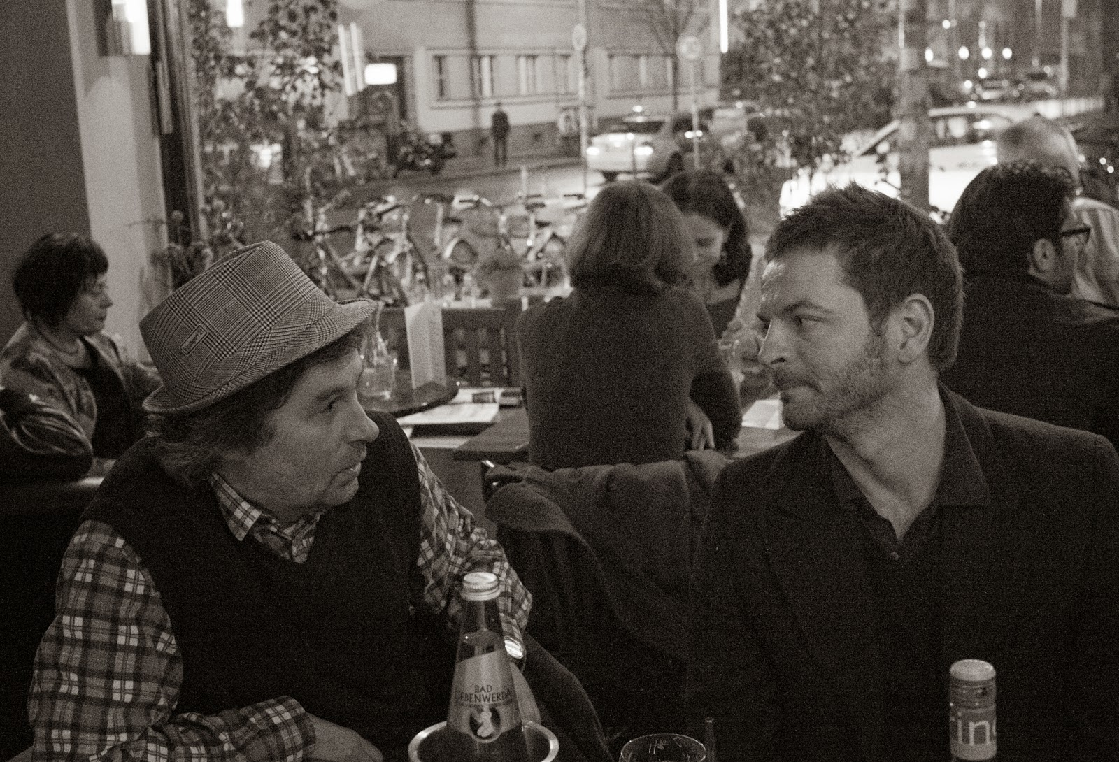 Raimar Stange in discussion with Anri Sala