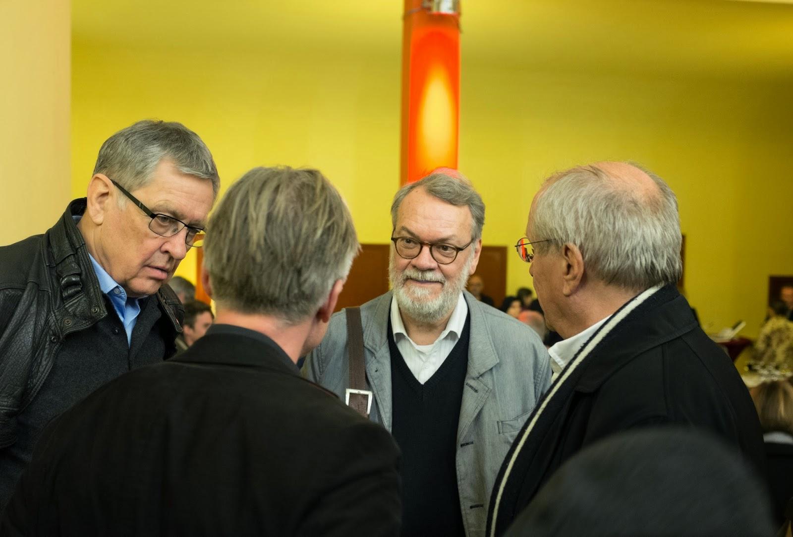 Peter Hönisch, Wulf Herzogenrath,  Manfred Eichel
