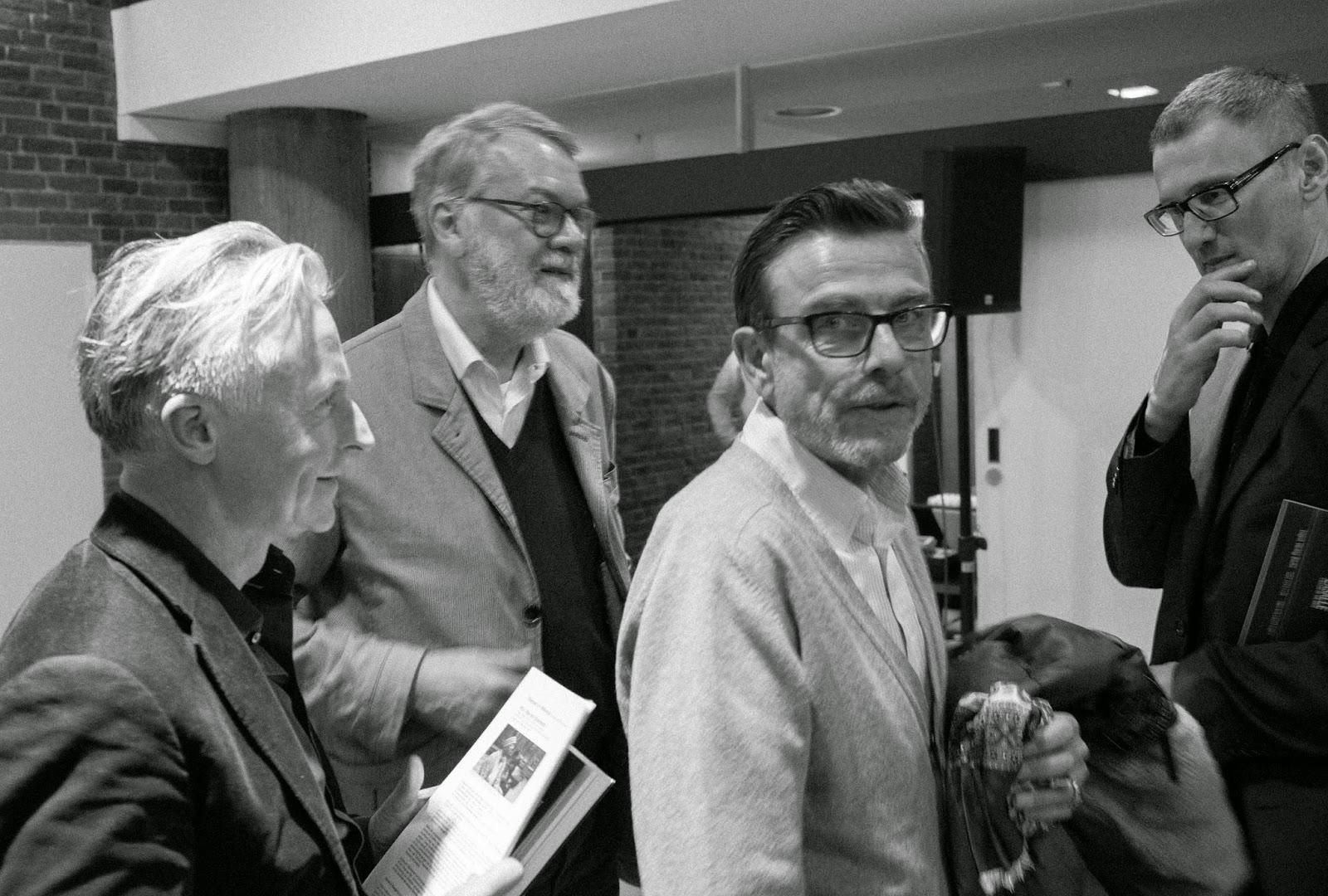 Akademie der Künste: Olaf Stüber, Wulf Herzogenrath, Marcel Odenbach, Slavco Kacunko