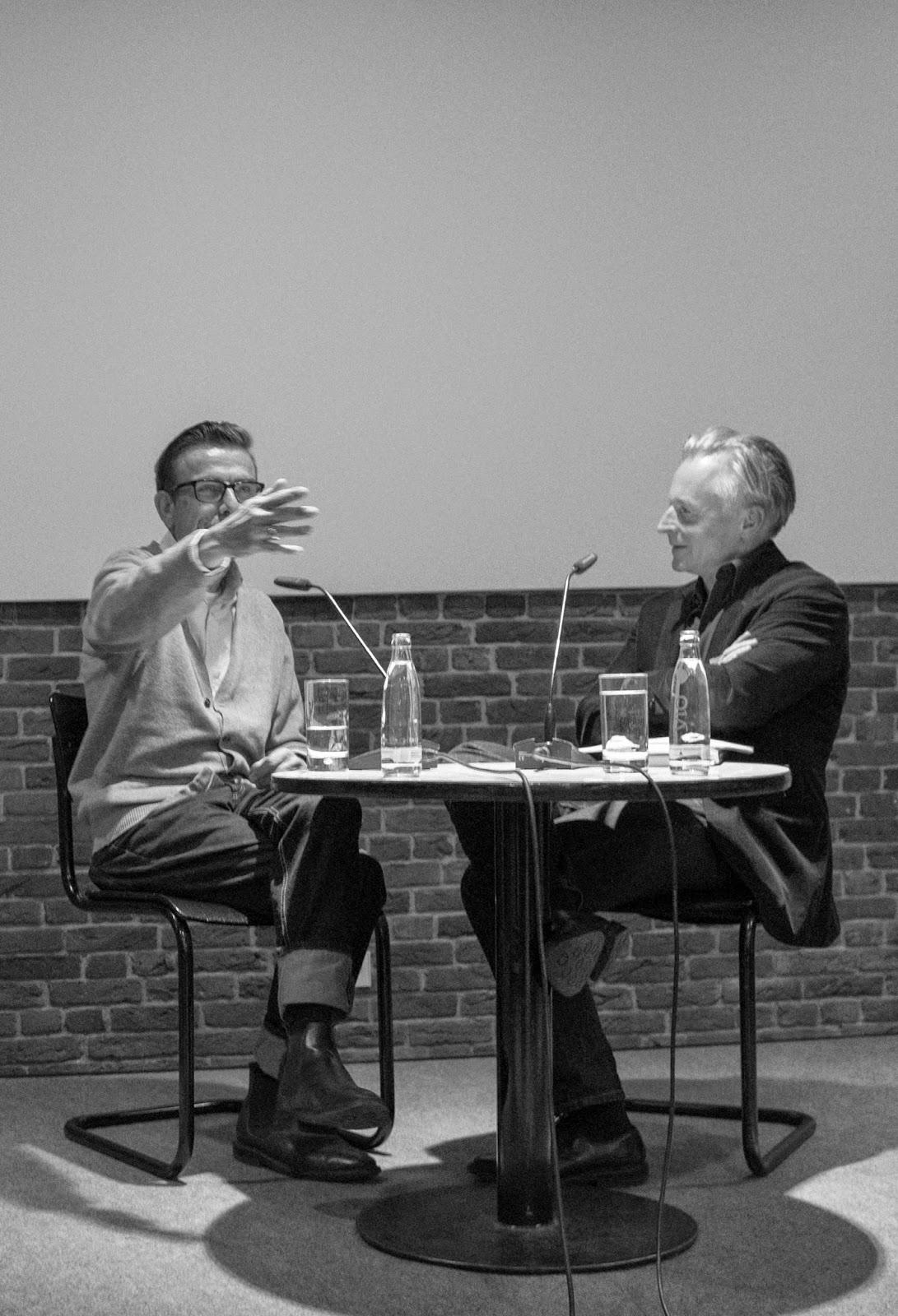 Akademie der Künste - artist talk: Marcel Odenbach with Olaf Stüber