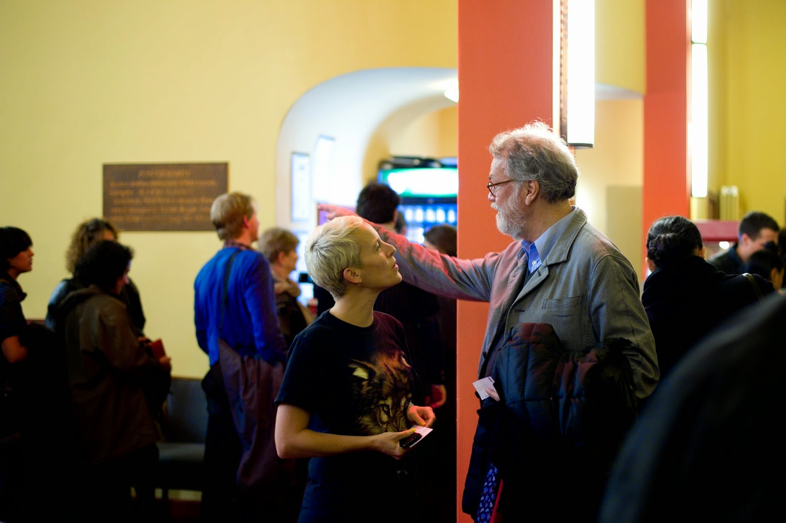 Candice Breitz in discussion with Wulf Herzogenrath