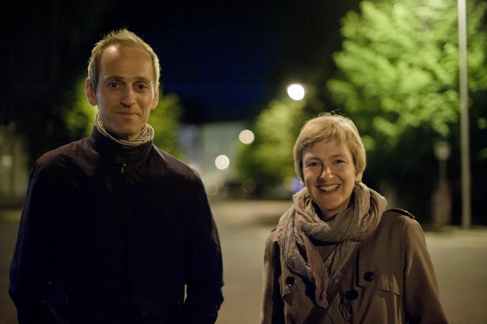 Nina Fischer and Maroan el Sani - happy after their screening
