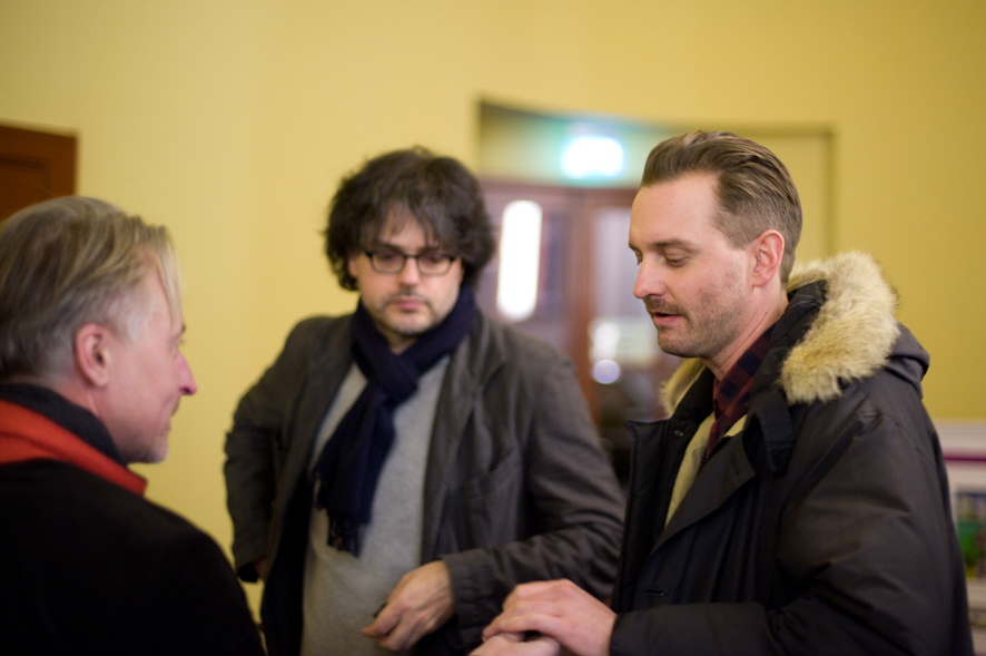 Olaf Stüber, Ivo Wessel with Martin Skauen