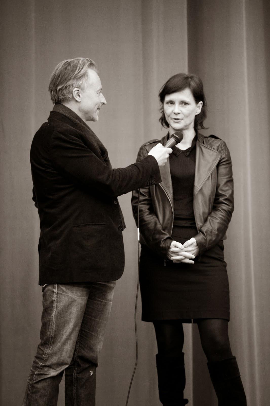 Olaf Stüber with Annika Eriksson